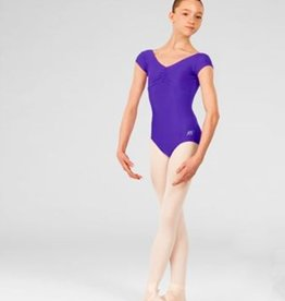 ABT Cap Sleeve Leotard Violet Adult Medium
