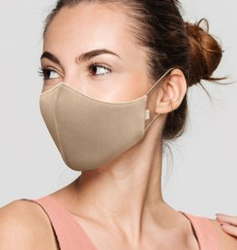 Bloch Bloch Adult Face Mask Sand