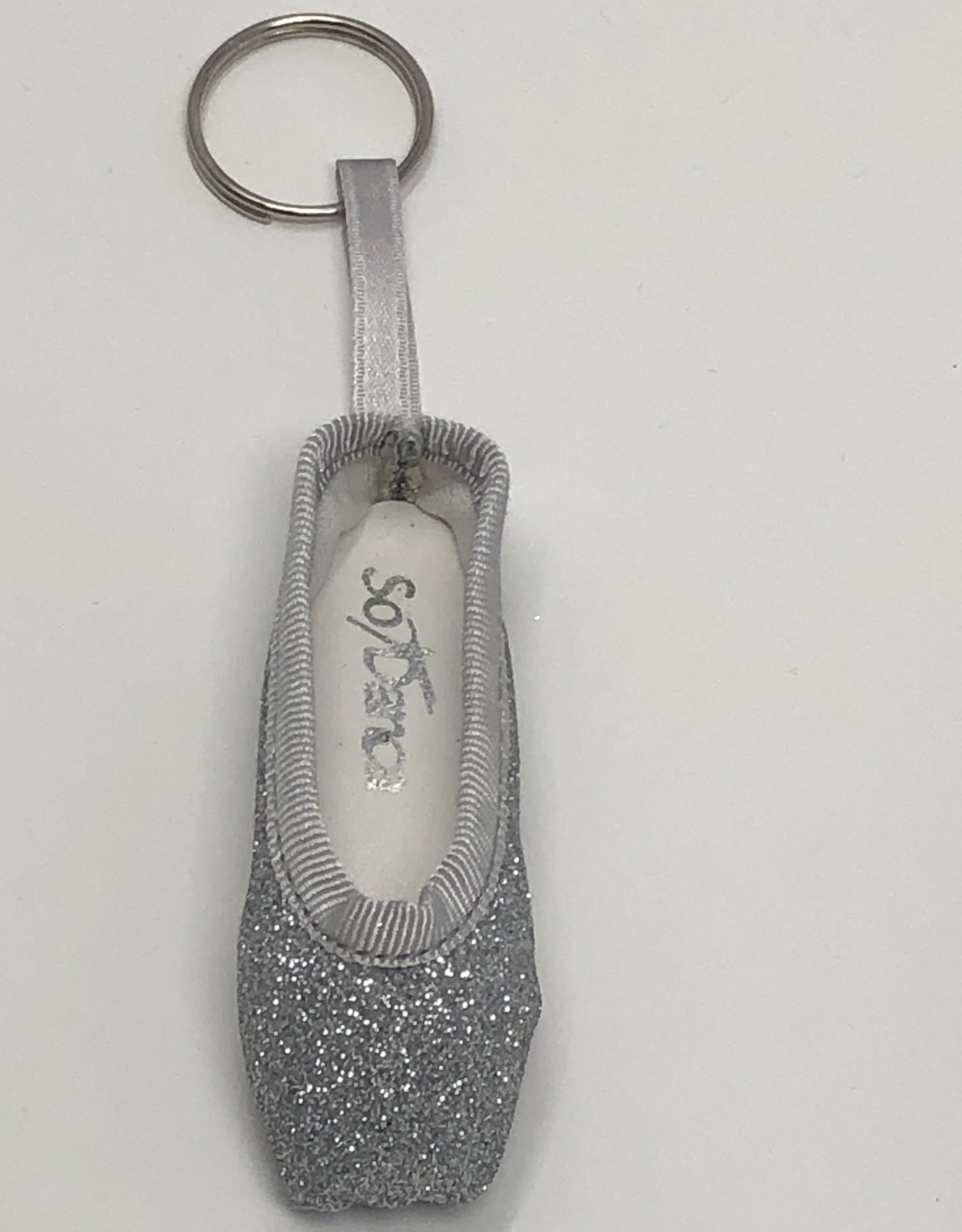 So Danca So Danca CK Mini Pointe Key Ring KC40Glitter