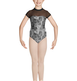 Bloch Bloch Mesh Collar Cap Leotard  M1534C