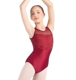 So Danca So Danca Tank Leotard L2023 Mesh Upper Bodice