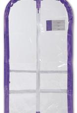 Danshuz Lavender Clear Com Garment Bag B596