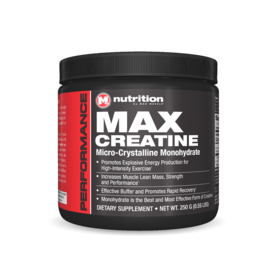 Max Muscle Max Creatine 250g