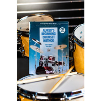 Alfreds Drumset Beginning Method Book and CD