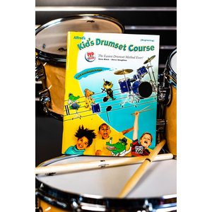Alfred Music Kids Drumset Course Book and DVD