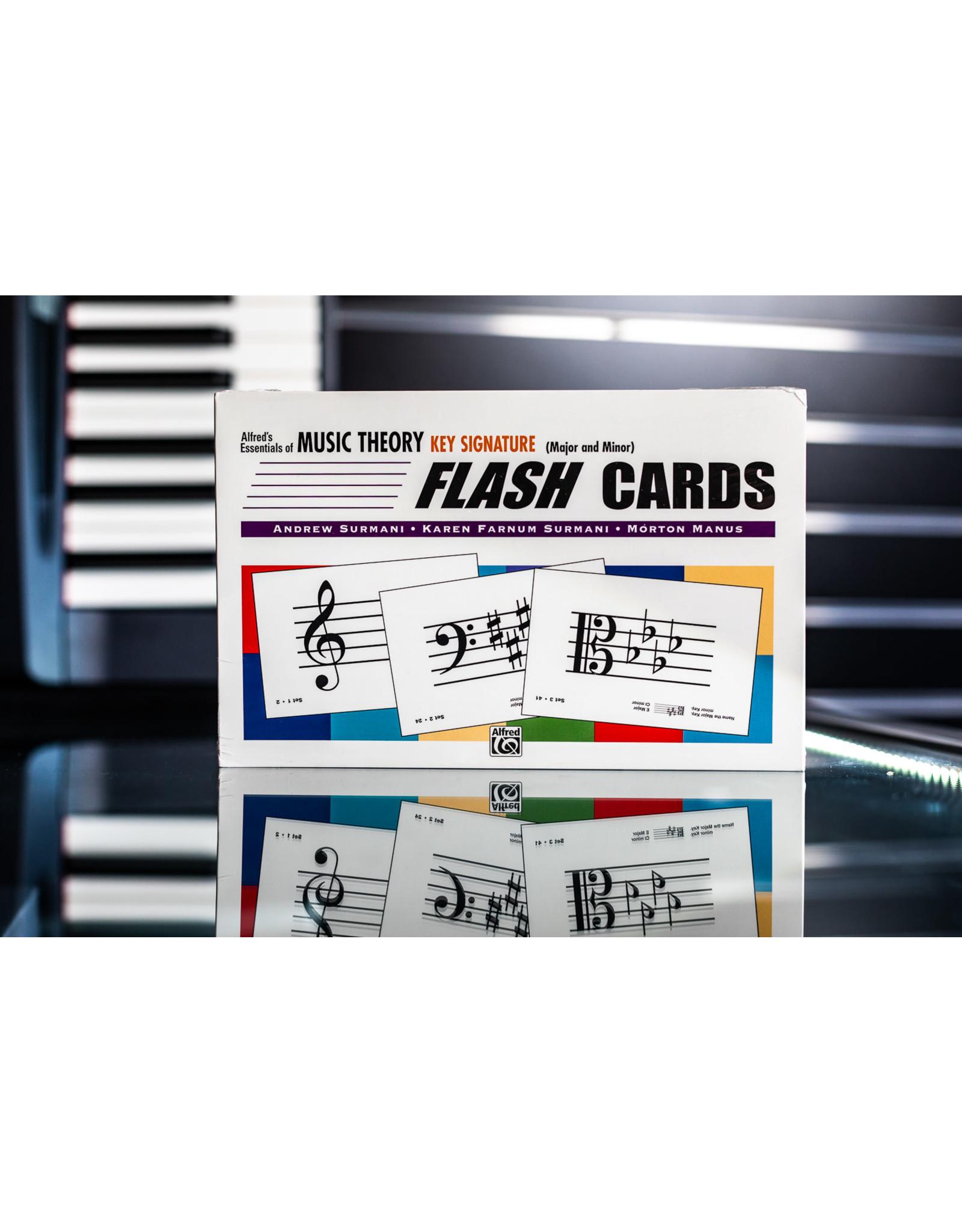Alfred Music EMT Flash Cards - Key Signatures