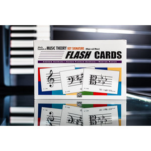 Alfred Music Alfred's Essentials of Music Theory: Flash Cards -- Key Signature