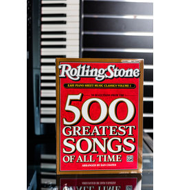 Alfred Music Rolling Stones 500 Greatest Songs of All Time - Easy Piano Version 1