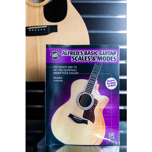 Alfred Music ALF Basic Guitar Scales & Modes