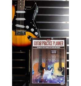 Alfred Music Alfreds Guitar Practice Planner