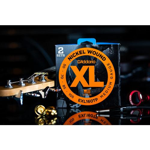 D'Addario D'Addario 2 Pack Bass XL Strings 50 - 105 Long