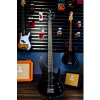 LTD B-10 4-String Bass - Satin Black w/ Gig Bag
