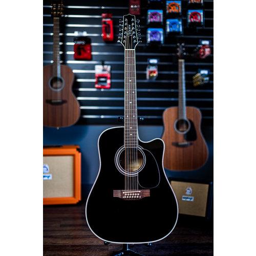 Takamine Takamine EF381SC 12-String Acoustic-Electric Cutaway Guitar