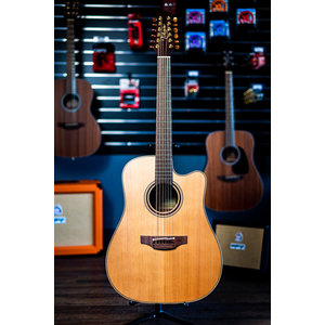 Takamine Takamine P3DC12 Acoustic/Electric Cutaway Guitar w/Case
