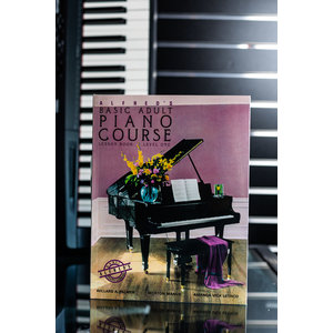 Alfred Music Basic Adult Piano Course Level One