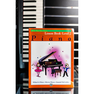 Alfred Music Piano Lesson Book Level 2