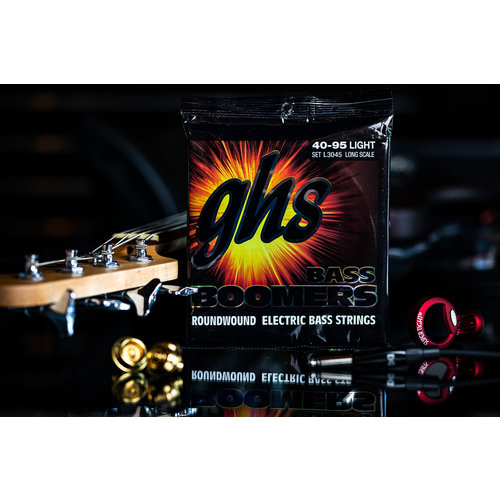 GHS GHS Boomer Long Scale Light Bass Strings