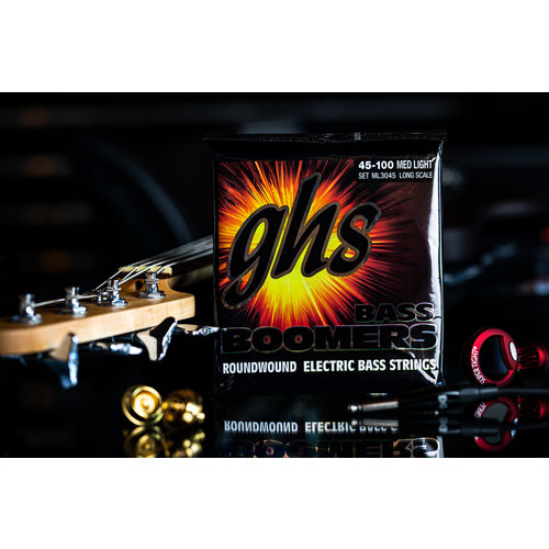 GHS GHS Boomer Long Scale Medium Light Bass Strings
