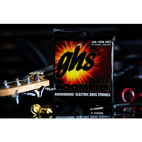 GHS GHS Boomer Long Scale Medium Bass Strings