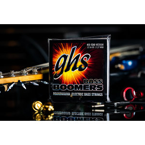 GHS GHS Boomer Long Scale 5-String Medium Bass Strings