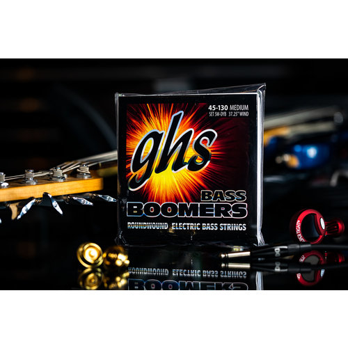 GHS GHS Boomer Long Scale 5-String Medium Bass Strings