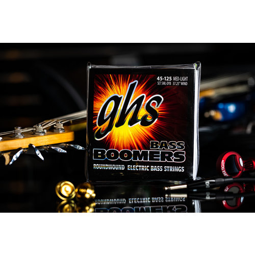 GHS GHS Boomer Long Scale 5-String Medium Light Bass Strings