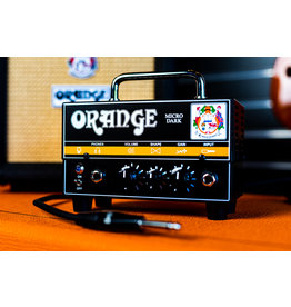 Orange Orange Micro Dark Lunchbox Head