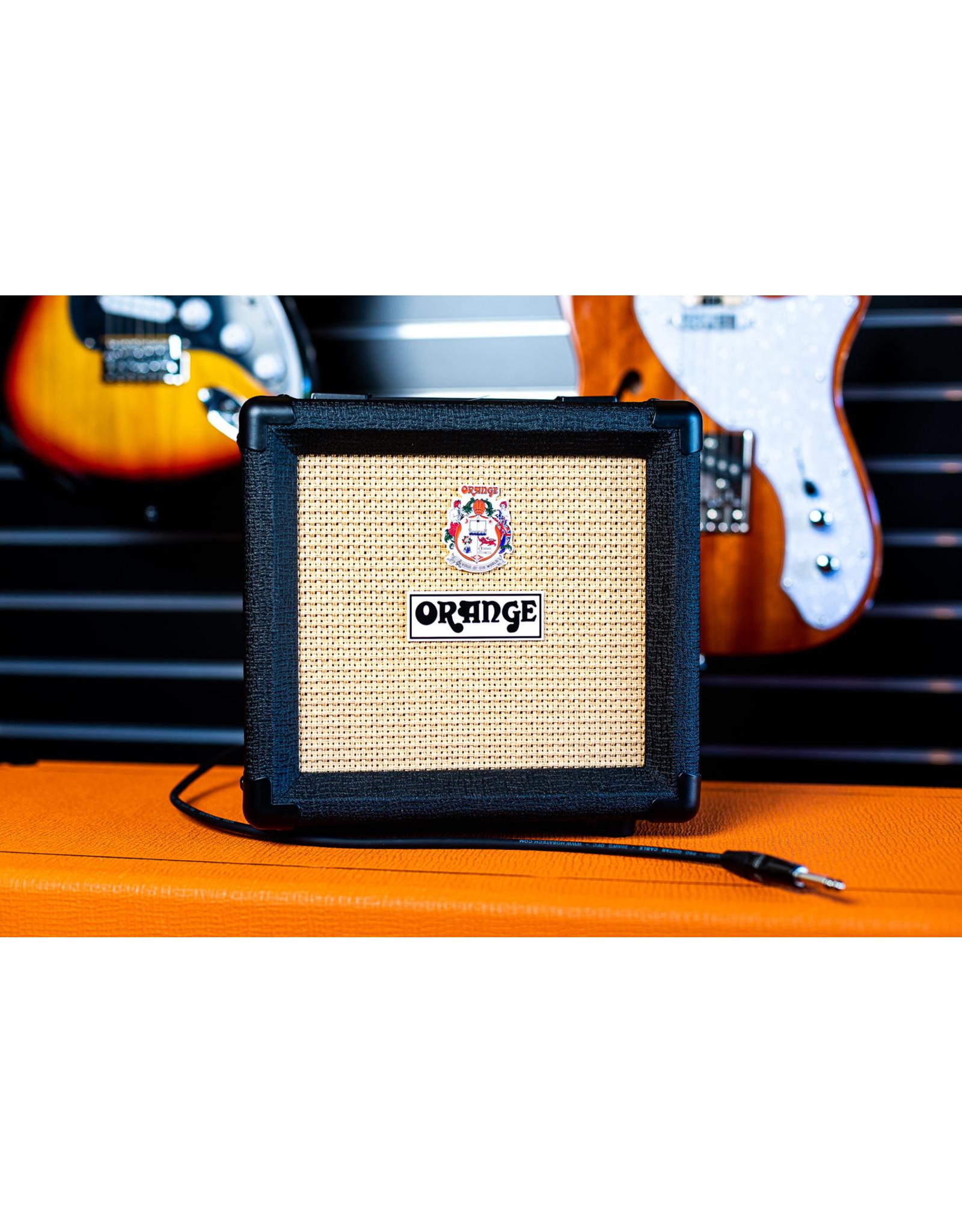 Orange Orange 1x8 Speaker Cabinet - Black