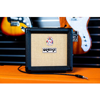 Orange 1x8 Speaker Cabinet - Black