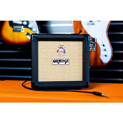 Orange Orange 1x8 Speaker Cabinet - Black