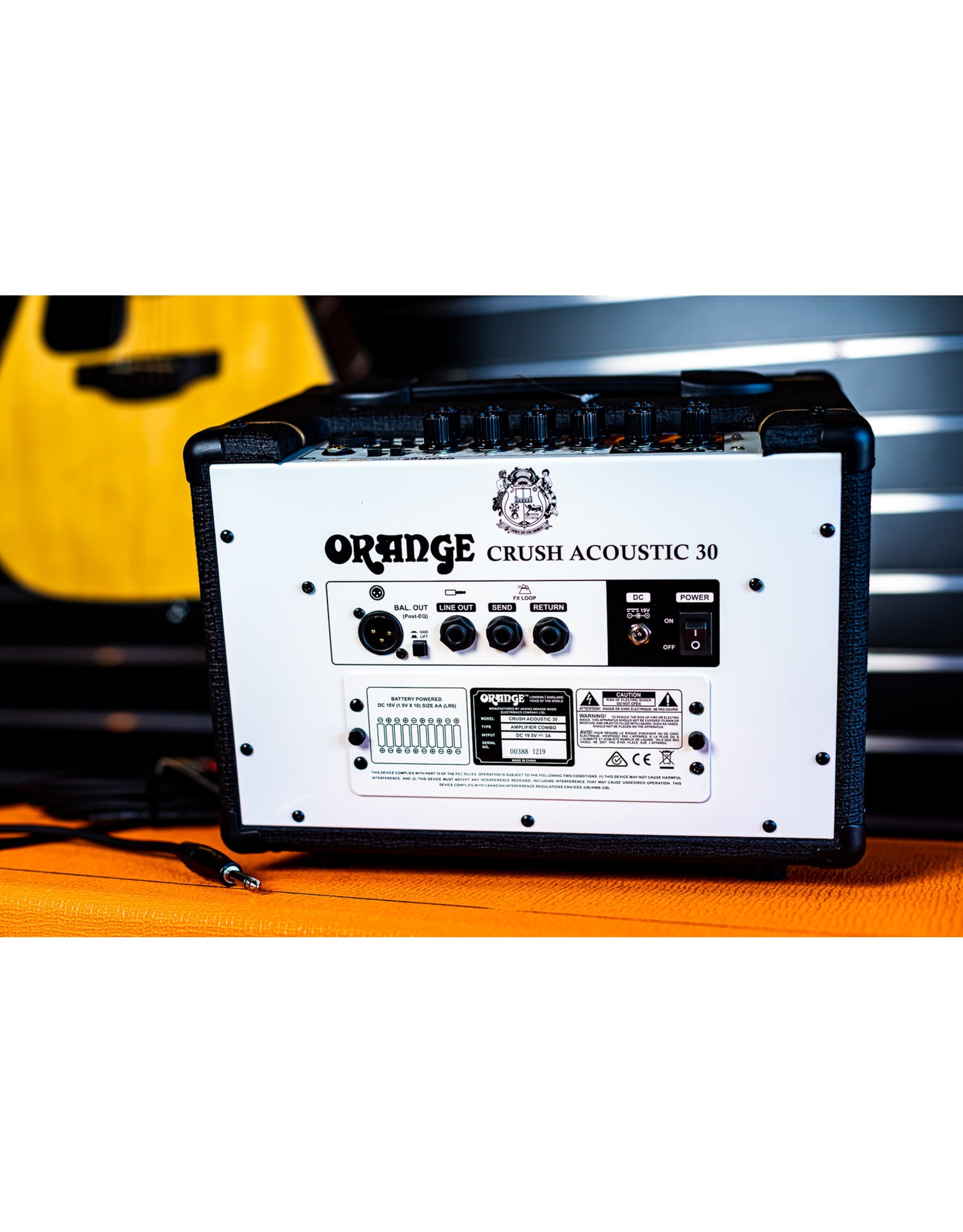 Orange Orange Crush 30 Watt Acoustic Amplifier - Black