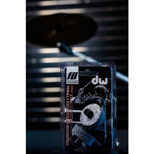 DW Serrated Cymbal Stem w/Felt (2Pk)
