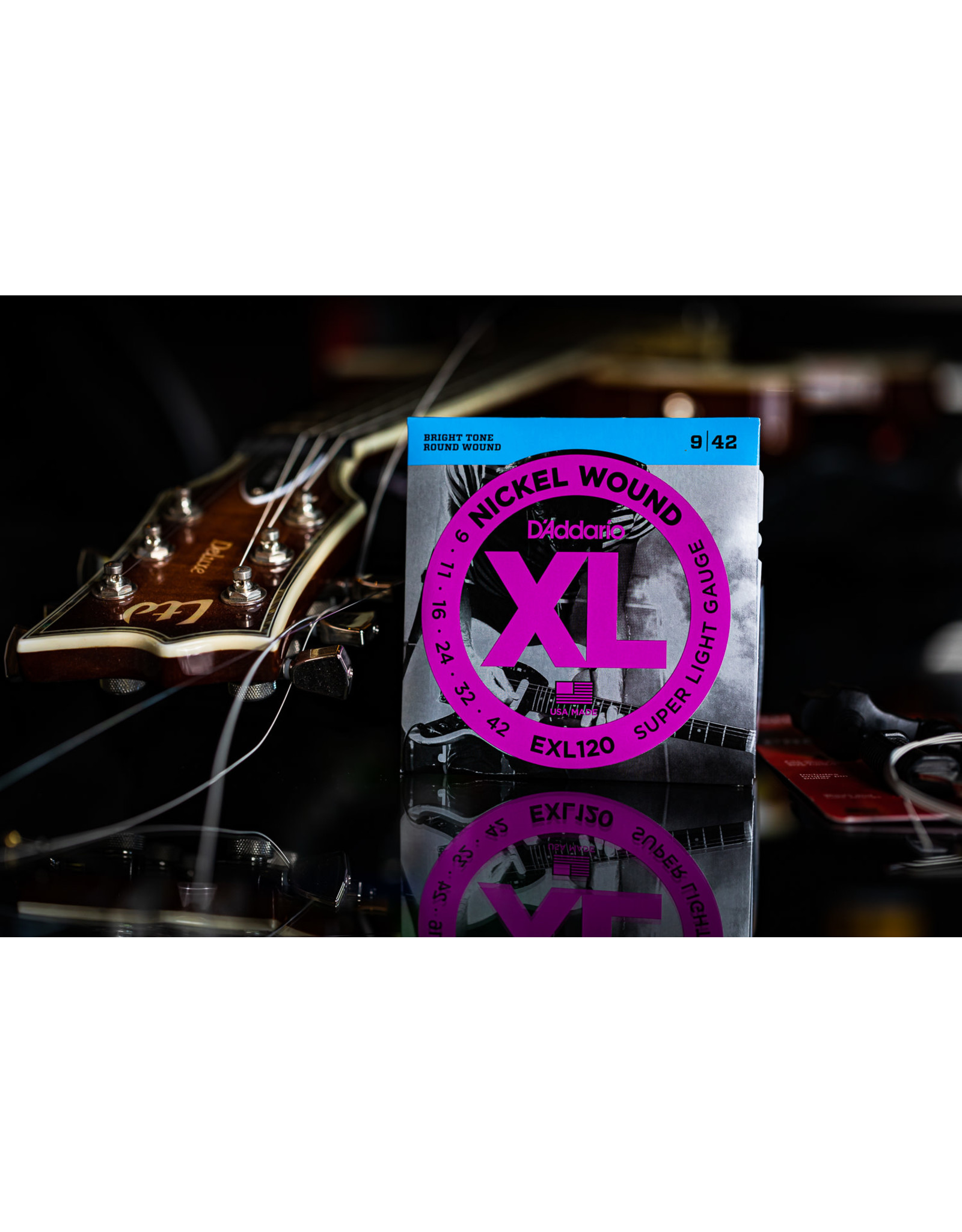 D'Addario D'Addario Nickel Wound XL Extra Light Electric Guitar Strings 09-42