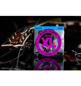 D'Addario D'Addario Nickel Wound XL Extra Light Electric Guitar Strings 09-42