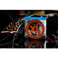 D'Addario Nickel Wound XL Light Top Heavy Bottom Electric Guitar Strings 10-52