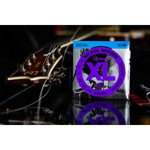 D'Addario XL 11-49 Nickel Wound Electric Guitar Strings