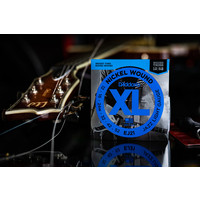 D'Addario Nickel Wound XL Jazz Light Electric Guitar Strings 12-52