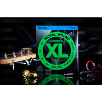 D'Addario Nickel Wound Bass Strings Super Light 40-95 Long Scale