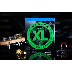D'Addario D'Addario Nickel Wound Bass Strings Super Light 40-95 Long Scale