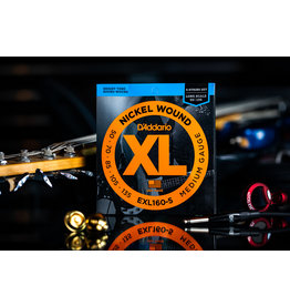 D'Addario D'Addario Nickel Wound Bass Strings 5-String Medium 50-135 Long Scale