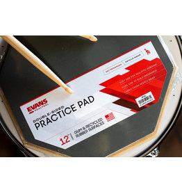 """Evans Evans Reel Feel Practice Pad 12"""" 2-SIDED STANDARD PAD"""