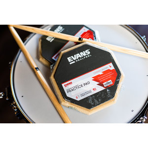 "Evans Evan's Reel Feel Practice Pad  6"" (2-sided Standard)"