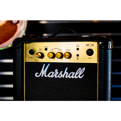 Marshall Marshall MG 10W 1x6.5 Combo Amplifier in Gold