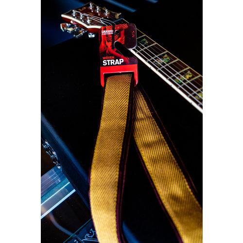 D'Addario 50mm Woven Guitar Strap - Tweed