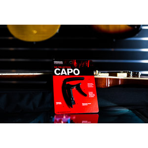 D'Addario Tri-Action Capo - Black