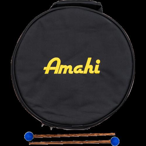 """Amahi Amahi 8"""" Steel Tongue Drum, Black"""