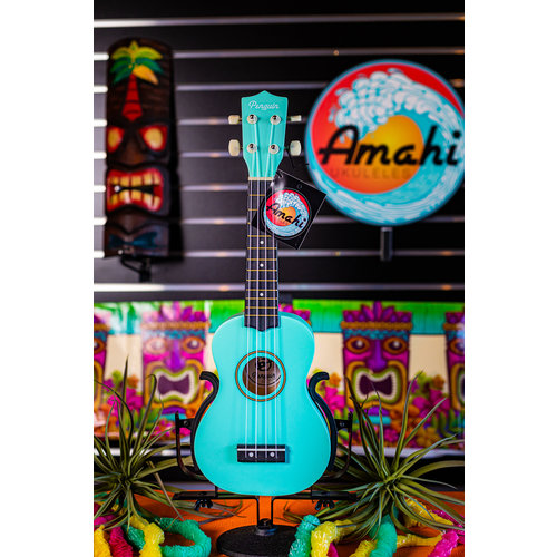 Amahi Amahi Light Blue Penguin Soprano Ukulele