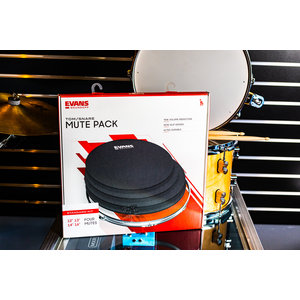 Evans SoundOff Tom & Snare Mute Pack - Standard Kit