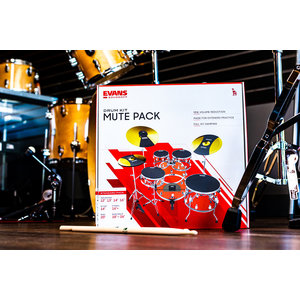 Evans SoundOff Drum Kit Mute Pack - Standard