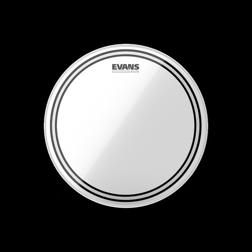 "Evans 15"" EC2 Clear Tom Batter Head"